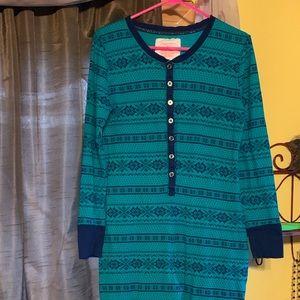 LN Adult one piece pajamas, onesie, union suit XL